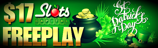 More bonuses on St. Patrick's Day
